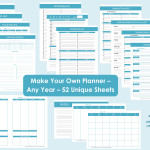 Build Your Own Printable Daily Planner – Perpetual/Undated