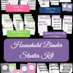 The New Chevron Household Binder Set!