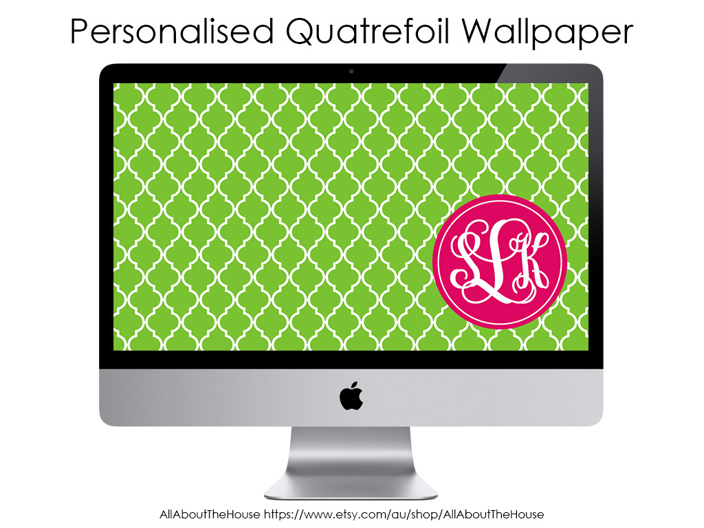 how to make a monogram desktop screensaver wallpaper tutorial step by step how to make a monogram quatrefoil