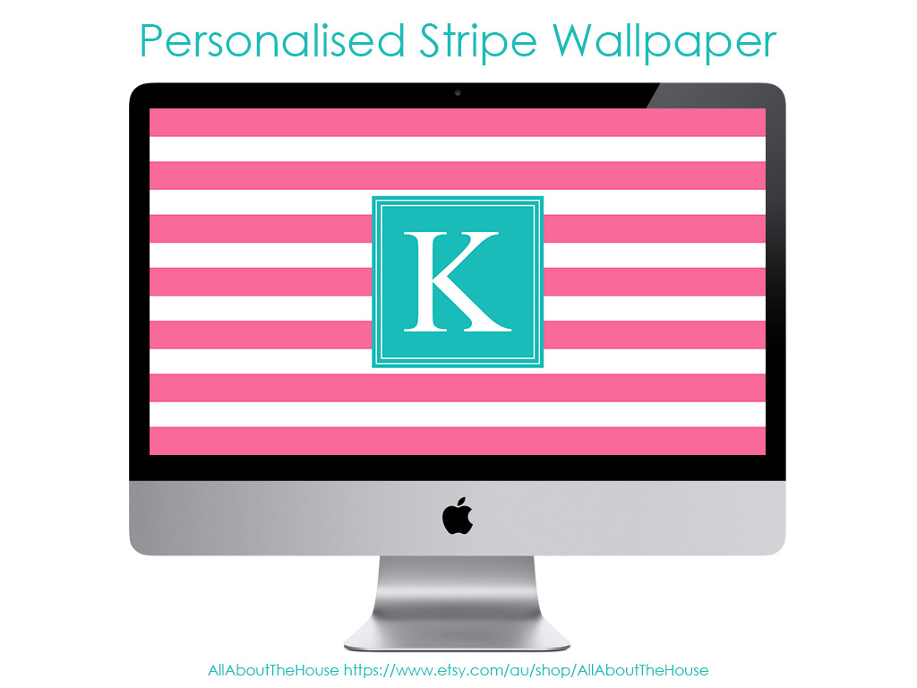 how to make a monogram desktop screensaver wallpaper tutorial step by step how to make a monogram stripe background screensaver