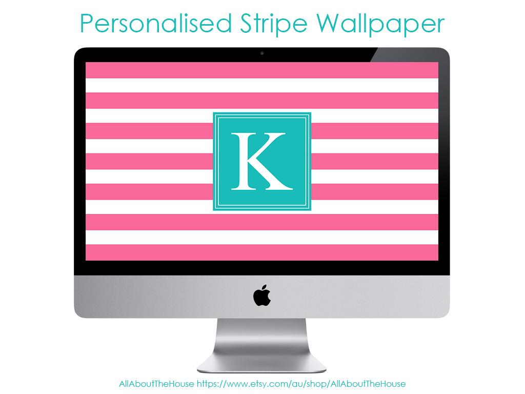 how to make a monogram desktop screensaver wallpaper tutorial step by step how to make a monogram stripe background screensaver
