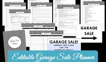 Garage Sale Planner