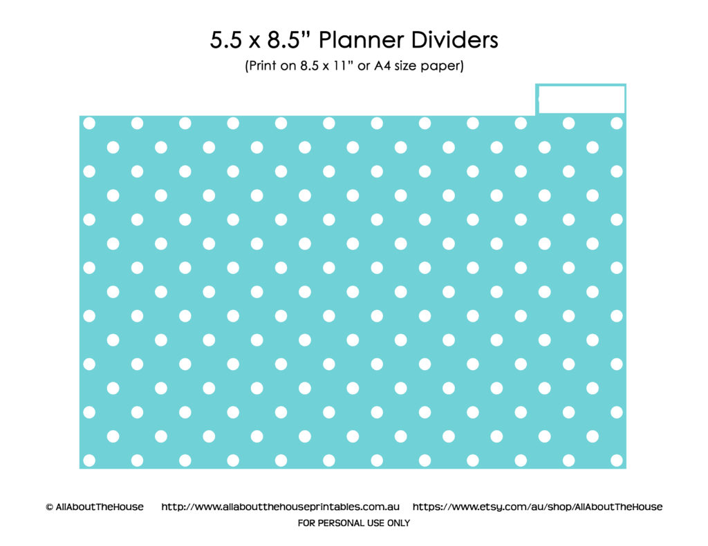photograph about Printable Binder Tabs referred to as Planner Dividers with Tabs - Photoshop Template - All Regarding