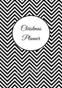 editable printable Christmas planner