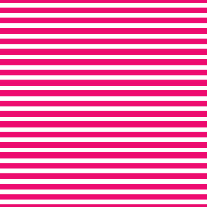 AATH - Horizontal Stripes Hot Pink