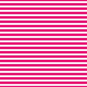 AATH - Horizontal Stripes Hot Pink
