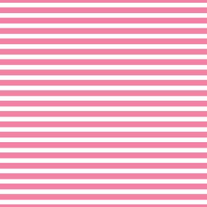 AATH - Horizontal Stripes Light Pink