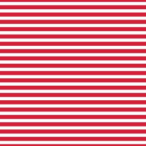 AATH - Horizontal Stripes Red
