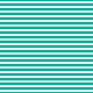 AATH - Horizontal Stripes Teal
