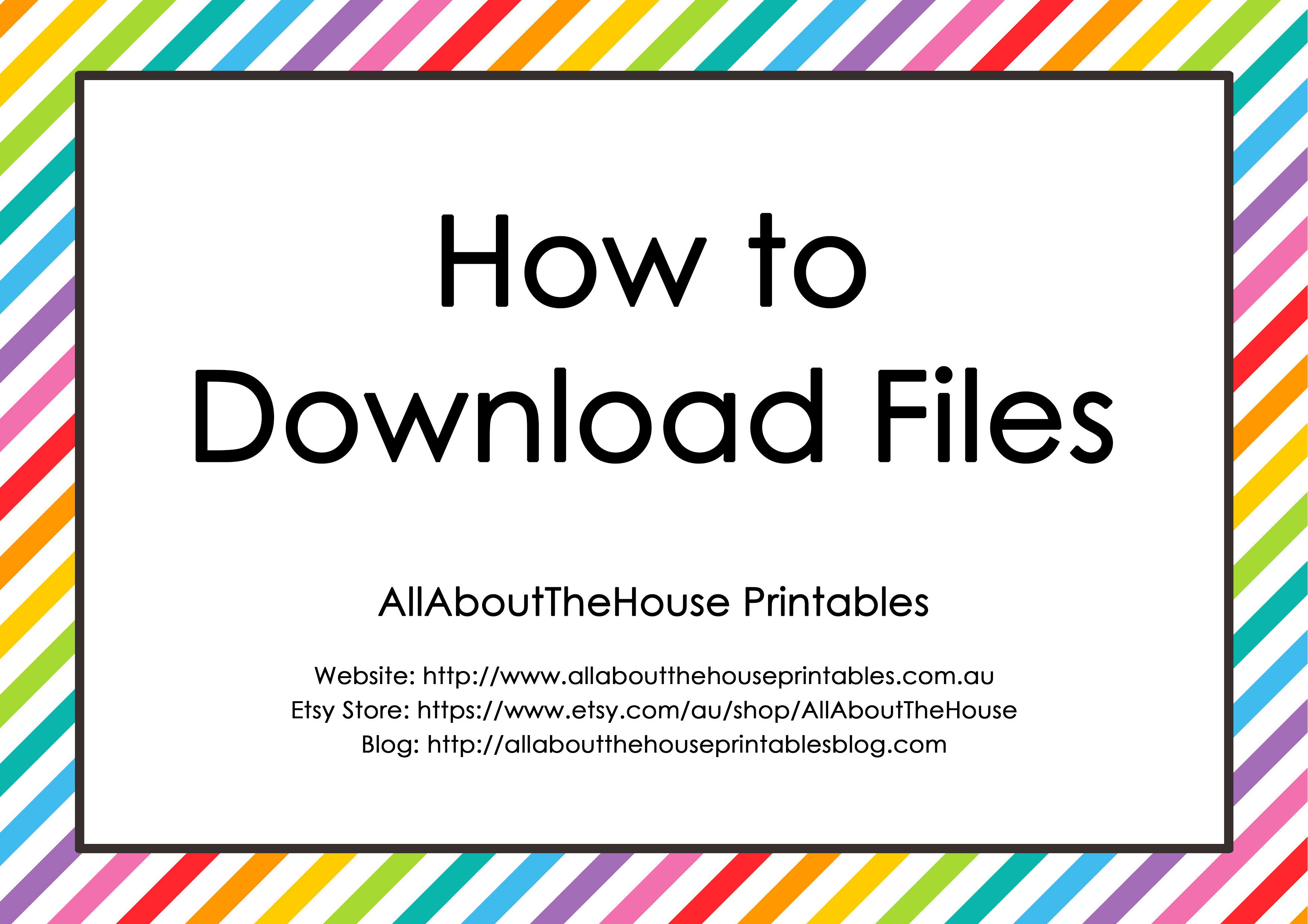 How to Download Files