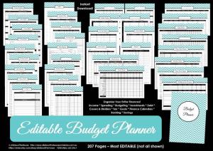 Budget Binder - Money Management - Finances
