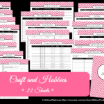 Craft & Hobbies Printable Project Planner