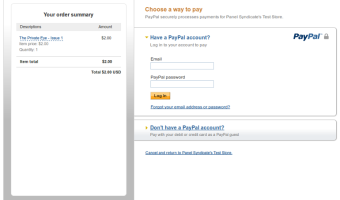 How to pay with a debit or credit card via Paypal without a Paypal Account