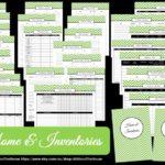 Home & Inventories – Household Binder