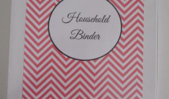 Household Binder Update
