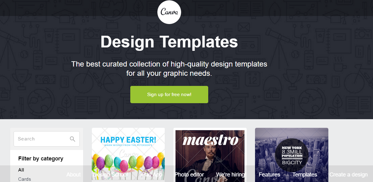 Canva - one of my favorite free online graphic design tools for creating blog images