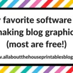 Favorite software for making blog graphics (and what size should social media graphics be?)