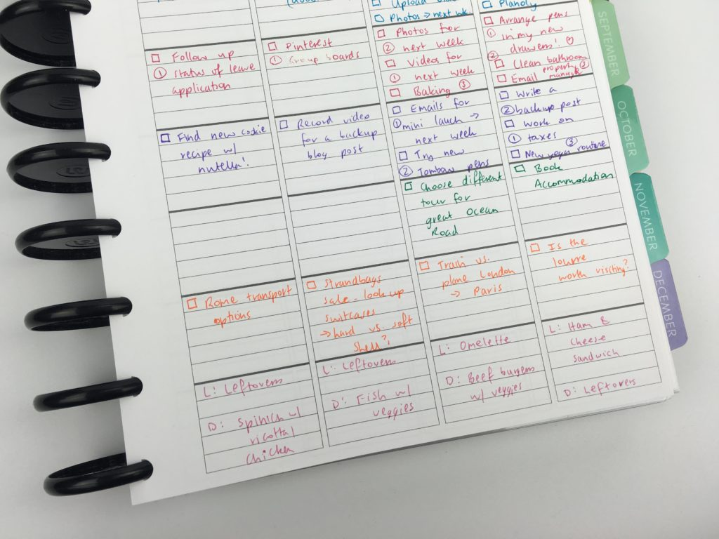 how to color code your planner best planners for busy people college mom blogger entreprenur pens versus highlighters-min