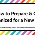How to prepare and get organised for a new year (plus a FREE printable!)
