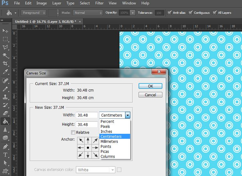 change image canvas size in photoshop2