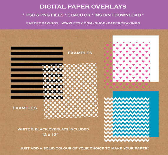 how to use a digital paper overlay how to change color in photoshop pattern design