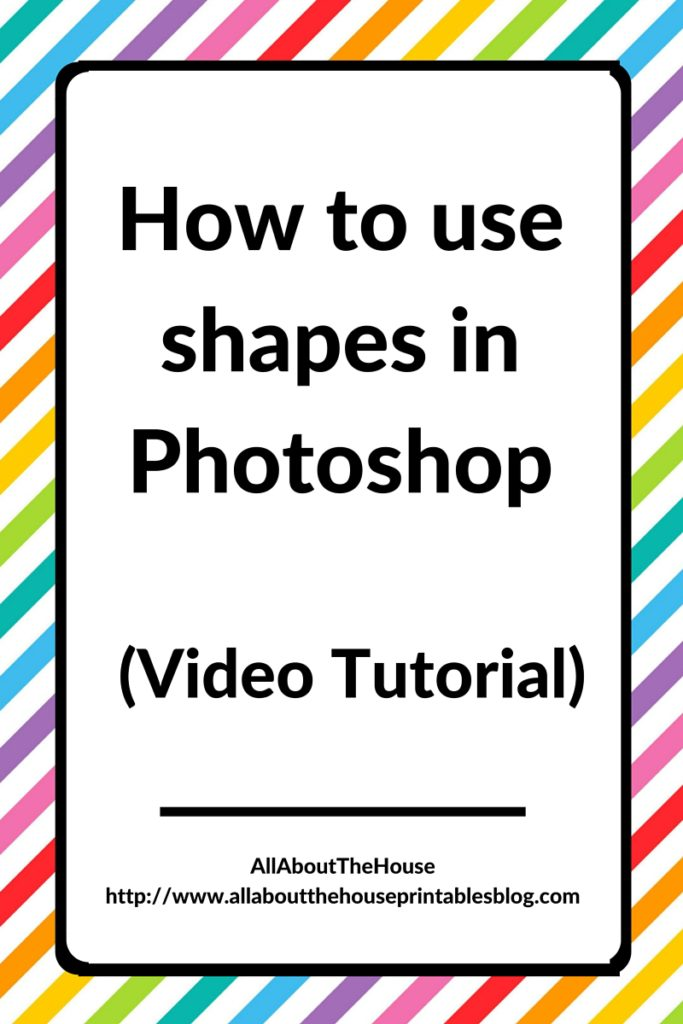 how to use shapes in Photoshop Adobe graphic design surface design illustrator beginner turorial shape menu csh import backup