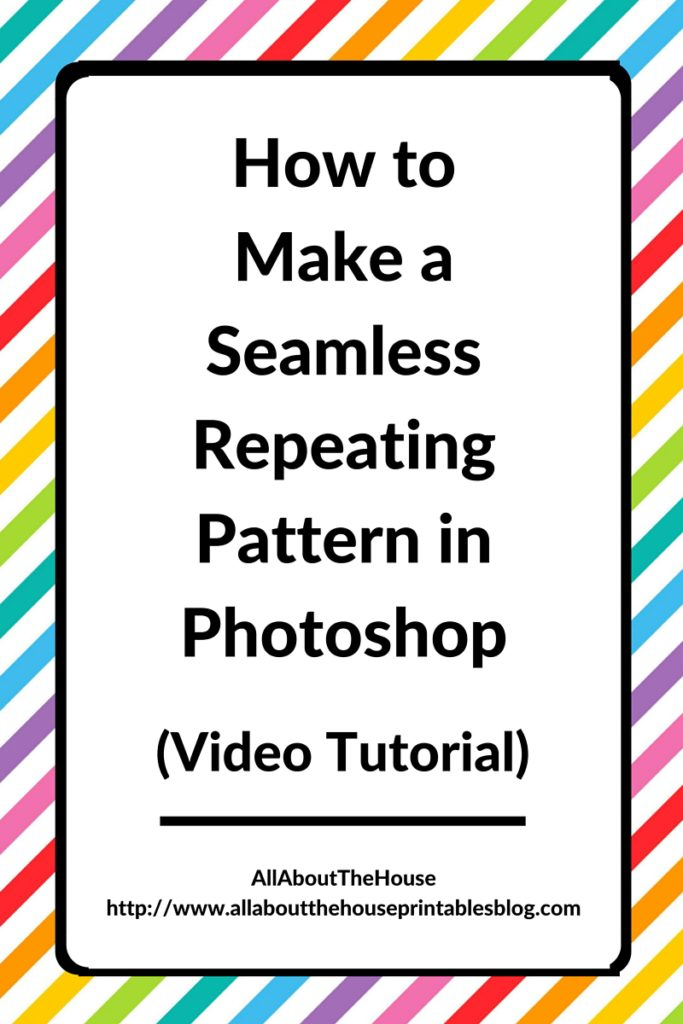 How to make seamless repeating patterns in photoshop video tutorial graphic design illustrator surface design textile ecourse