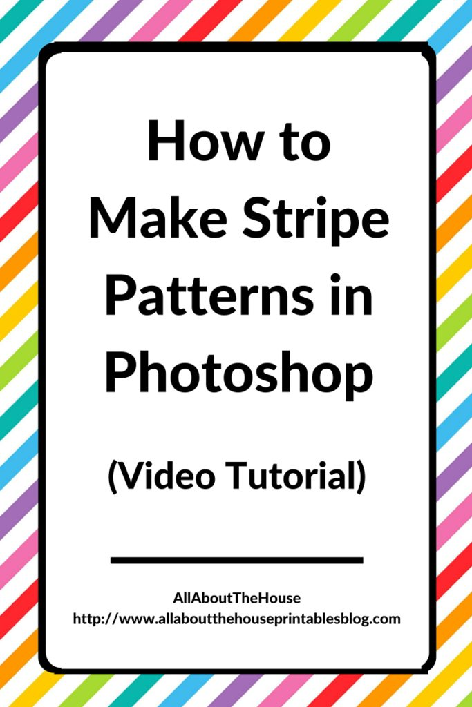 How To Make Stripe Patterns In Photoshop Inspiration How To Make A Pattern In Photoshop