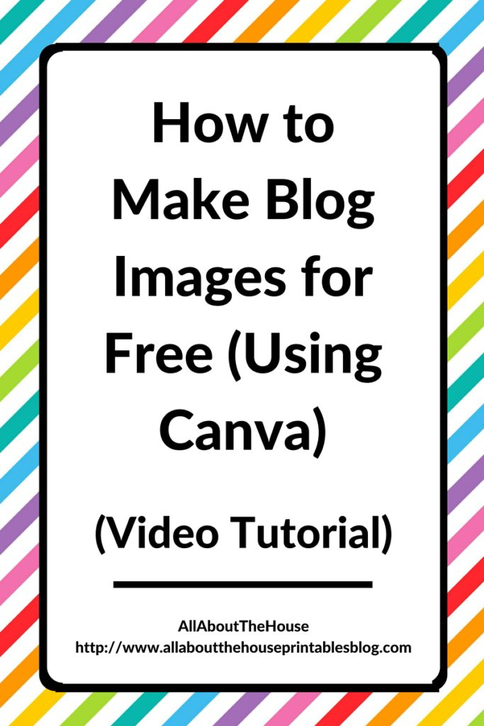 how to make blog images for free using canva video tutorial blog graphics lead magnet opt in marketing social media pinterest