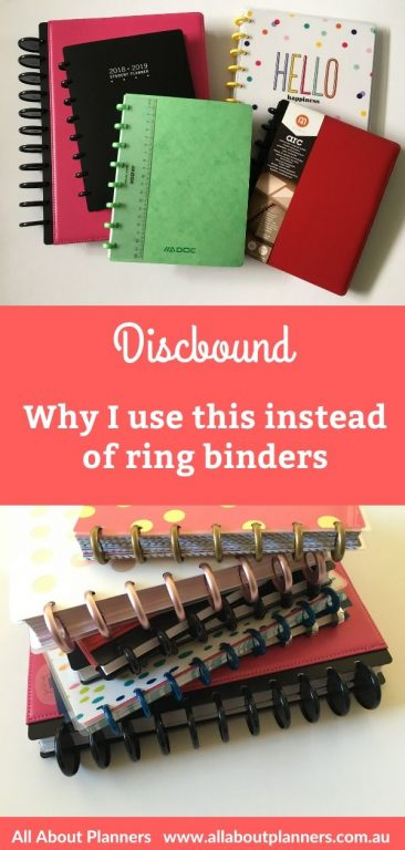 why i use discbound instead of ring bound planners pros and cons review how does it work best brands guide faq