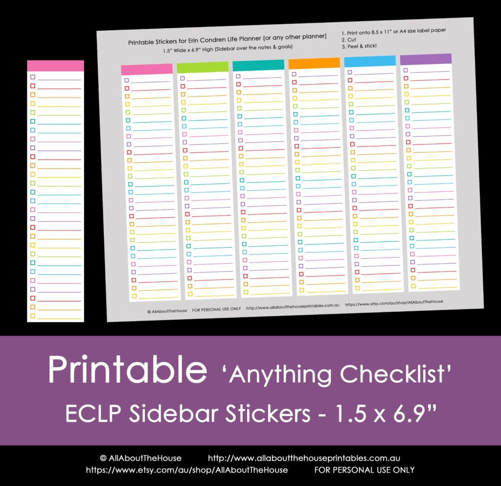 printable erin condren planner stickers sidebar monthly checklist to do editable chores goals reminders rainbow-min