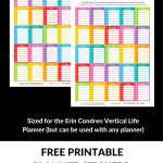 FREE Printable Planner stickers to help you proritise your to dos