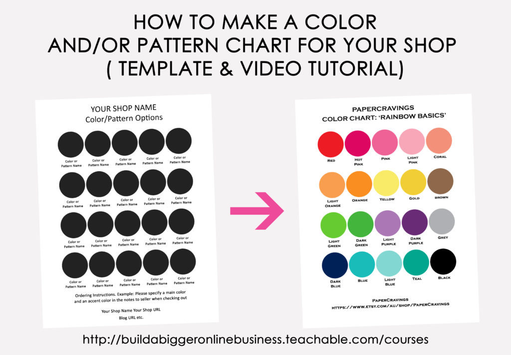 how to make a color chart pattern chart template in photoshop template video tutorial popular color combinations chart printable online business product