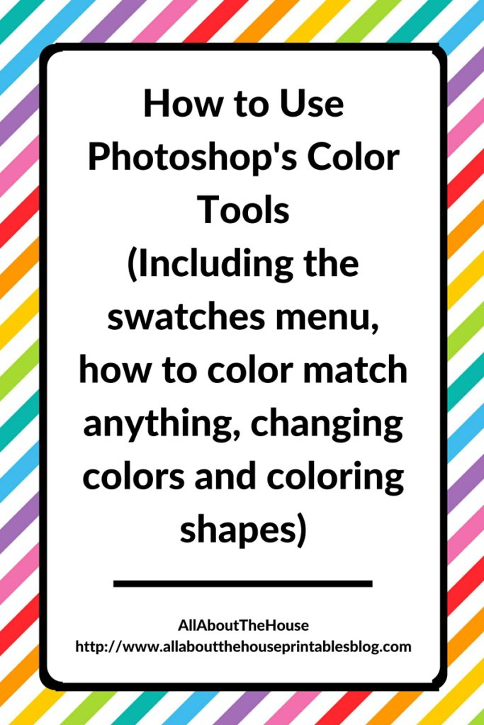 How To Use Color Swatches In Photoshop Photoshop S Color