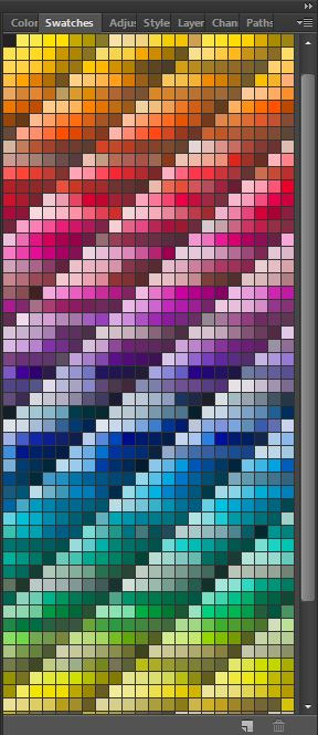 pantone solid coated color swatches menu in photoshop color wheel color schemes color theory beginner ecourse choose color