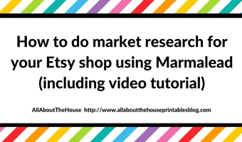 How to do market research for your Etsy shop using Marmalead (including video tutorial), seo, keyword, tags, etsy seller