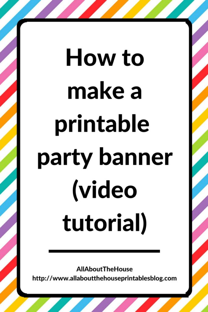 image about How to Create a Printable named How in direction of crank out a get together banner inside Photoshop (How toward deliver occasion