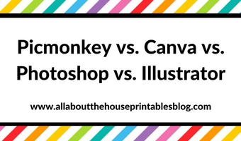 Picmonkey versus Canva versus Photoshop versus Adobe Illustrator: Which one is best for graphic design?