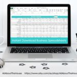 Simple spreadsheets to keep track of business income and expenses for tax time