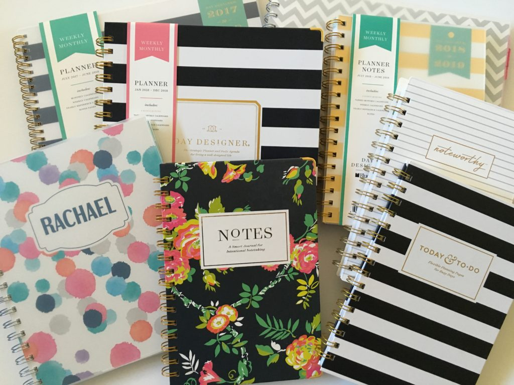 day designer for blue sky weekly daily monthly planner review haul favorite planner companies