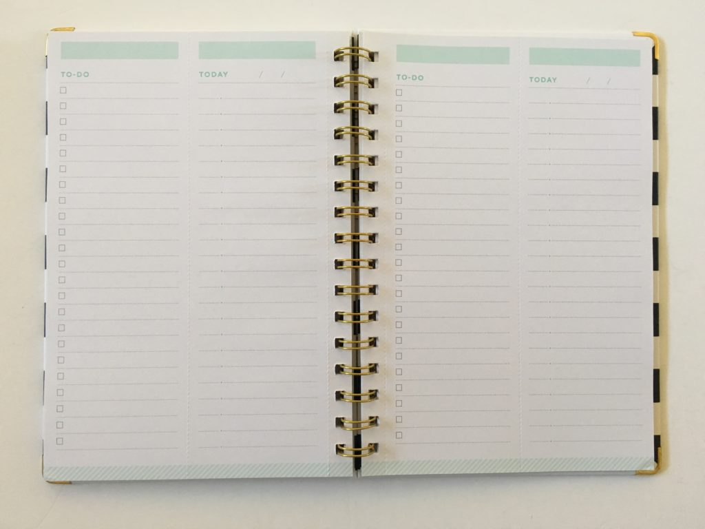 day designer today and to do notebook review a5 simple minimalist cheap alternative to a traditional weekly planner