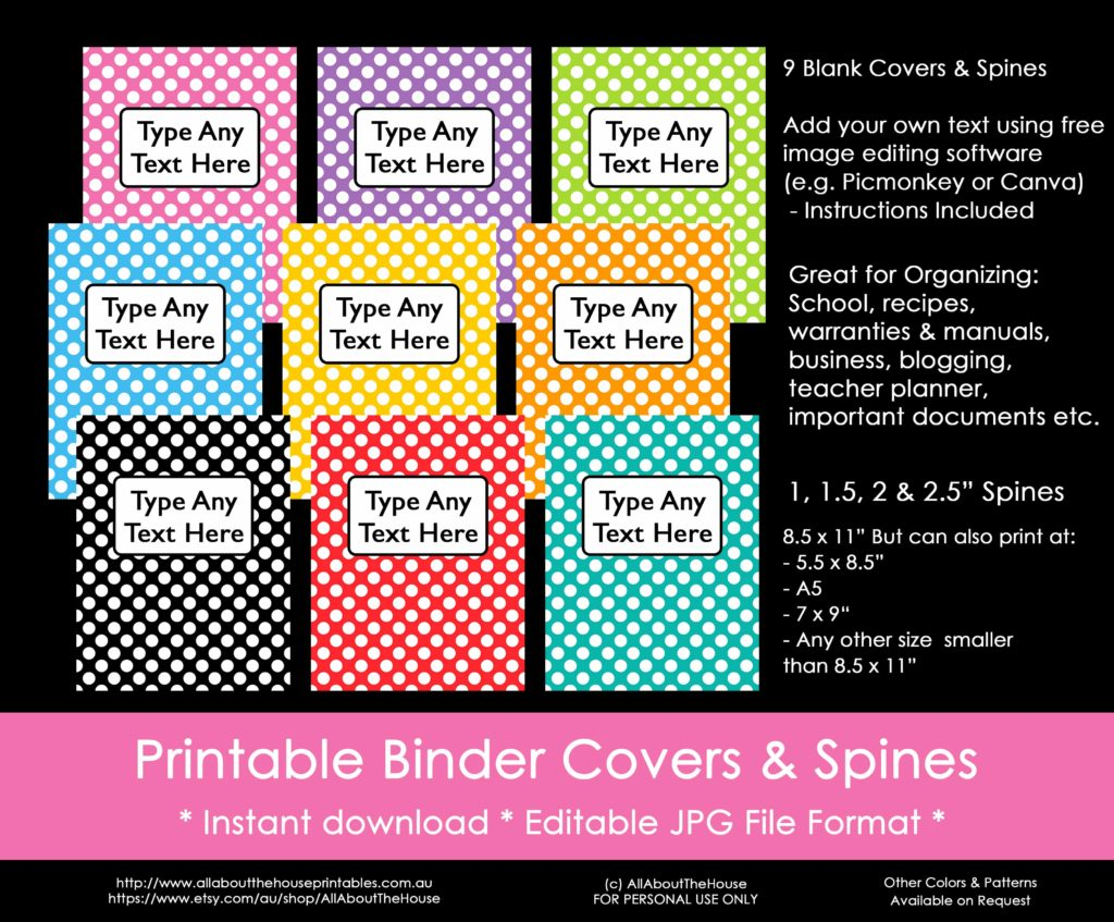 photograph relating to Free Printable Binder Covers named Practices towards arrange taking binder handles (furthermore a No cost printable