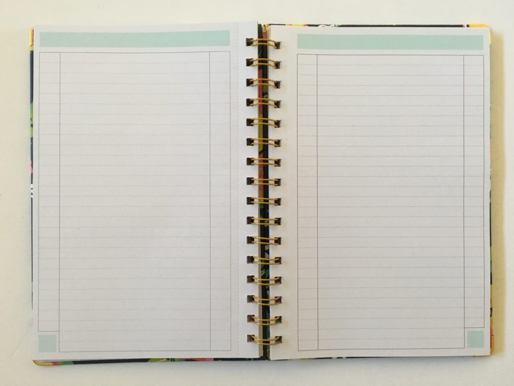 whitney english notebook day designer lists notes alternative to bullet journal dot grid notebooks