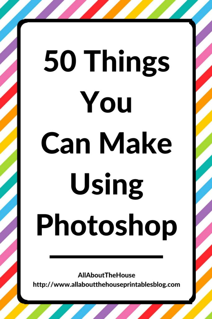 50 things you can make using photoshop for A website where you can draw