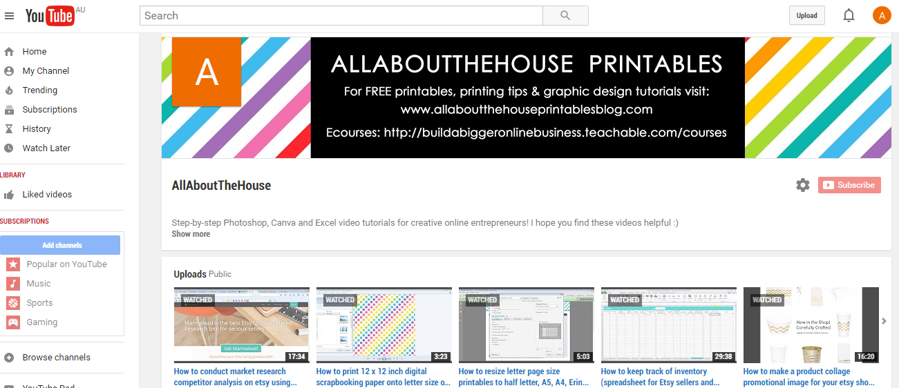 50 ways to use photoshop, how to create a youtube banner using Photoshop