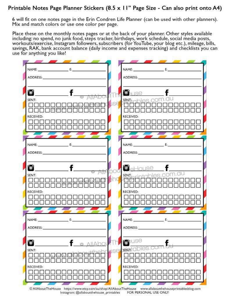 rak-planner-stickers-happy-mail-monthly-notes-page-erin-condren-printable-planner-rainbow-diy-instant-plum-paper-happy-planner-post-min