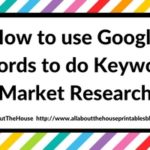 How to use Google Adwords Tool to do Keyword & Market Research for Etsy Sellers