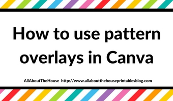 How to use pattern overlays in Canva