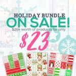 The holiday planner stickers bundle is now available (for a limited time only!)