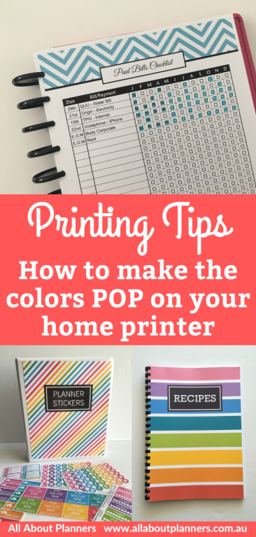 printing tips how to print printables at home inket printer instructions colorful all about planners best printer for making a diy planner or planner stickers